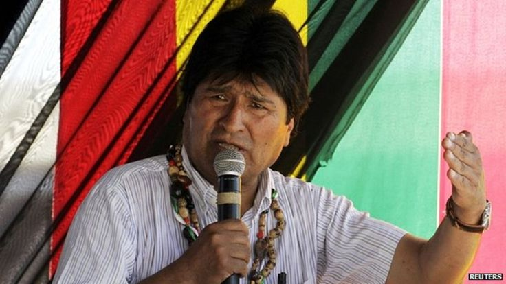 A profile of Evo Morales, the coca growers' leader who became Bolivia's first president from the country's indigenous community.