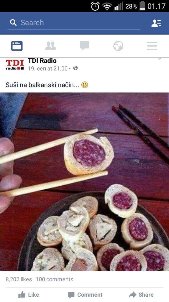 Serbian sushi :-D