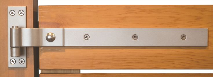 """24"""" Stainless Steel 316 Grade Heavy Duty Strap Hinges (Set of 3) - This set of 3 stainless steel strap hinges is a terrific option when you're looking for a clean, contemporary hinge. These hinges can be used for carriage house doors, shed doors, or gates. they fit doors and gates with a maximum thickness of 5"""".  360 Yardware: Your Source for Contemporary Gate Hardware and More!"""