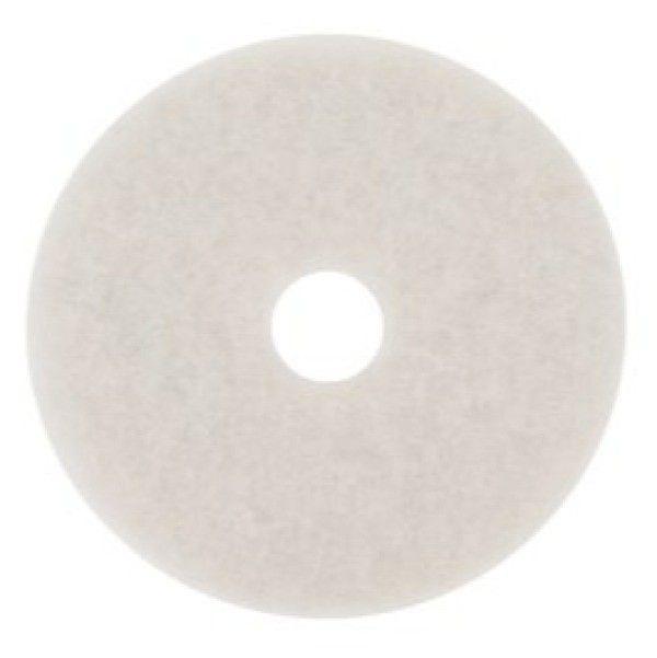 4100 17IN WHITE SUPER.  For buffing very soft finishes or for polishing soft waxes on wood floors. Removes scuffs and black heel marks and enhances floor appearance.  - Harga per pads.  Untuk Produk ini Biaya Pengiriman Disesuaikan dengan Volume.  http://tigaem.com/floor-pad-/1381-4100-17in-white-super-pad-poles-lantai-.html  #whitesuper #poleslantai #3M