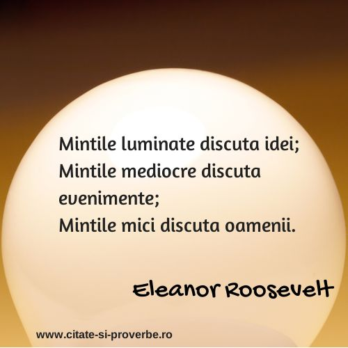 Sa ne luminam! #idei #evenimente #oameni #roosevelt