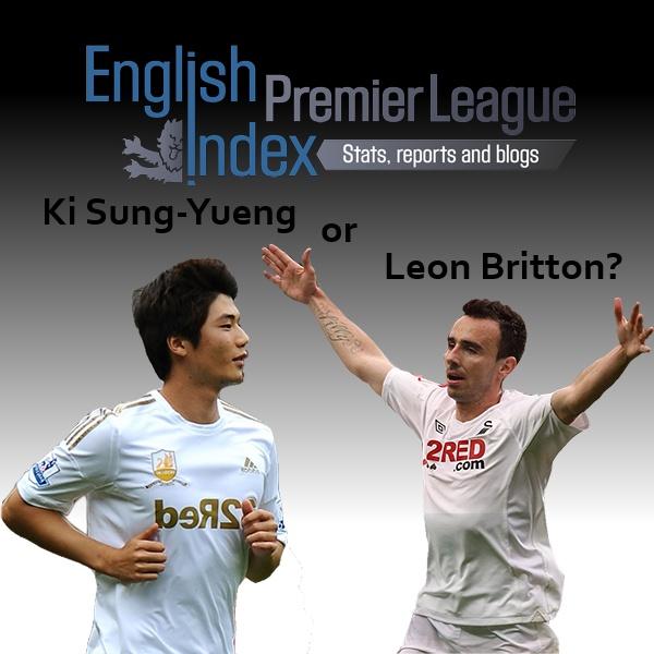 Leon Britton vs Ki Sung Yueng | A Statistical Comparison