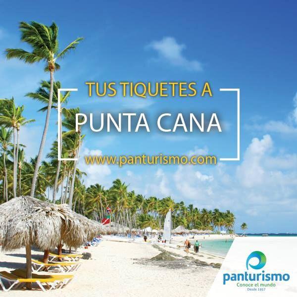 Compra tus tiquetes en www.panturismo.com y empieza el 2016 en un lugar espectacular, Punta Cana.