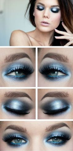 Dazzling Ocean Eyes on a hot summer day sounds so refreshing. Cool down your onlookers and yourself with the ocean effect! Try RMS in Inspire and Karma on the outer corners. .