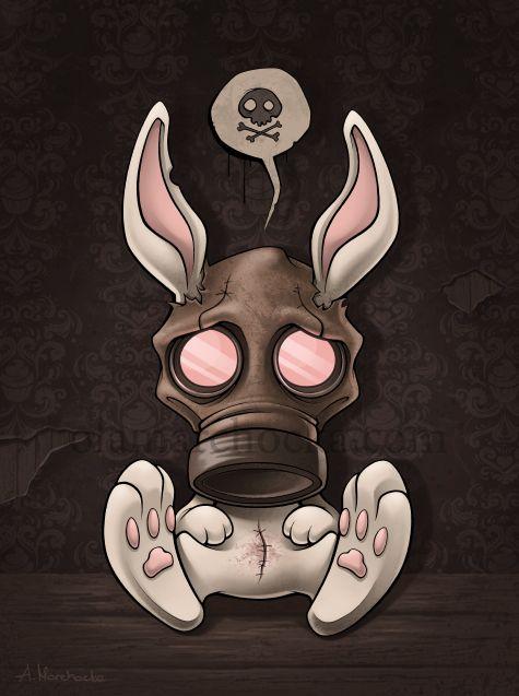 Toxic Bunny Resurrected... Portfolio: olamarchocka.com Facebook: www.facebook.com/aleksandracup… BUY PRINTS: society6.com/aleksandracupcake… All rights reserved. Please DO NOT USE my ...