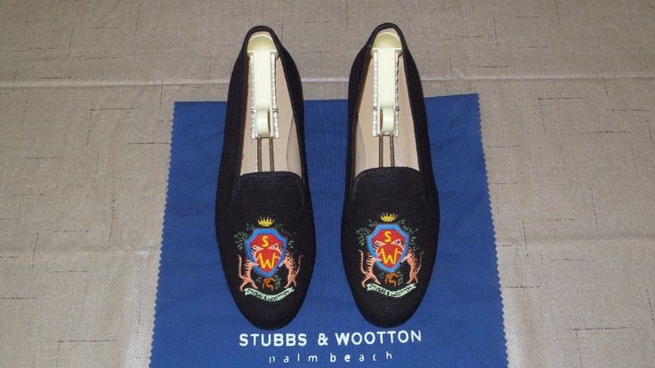 Stubbs & Wootton Story. SUPER CUTE & WORN ONCE INSIDE! CHECK ALL 7 PICS! Come with S&W shoe wrap, bag, & free shoe trees to keep form! | eBay!