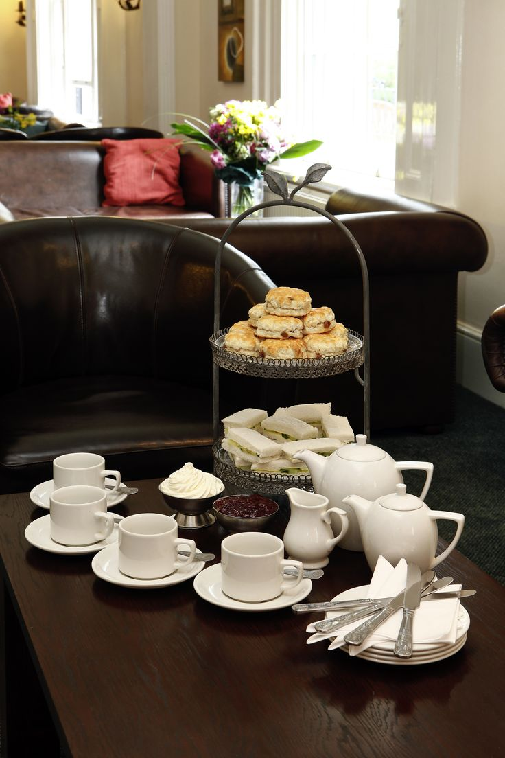 Afternoon tea is a national tradition! @ Mercure Stafford South Hatherton House Hotel #UK