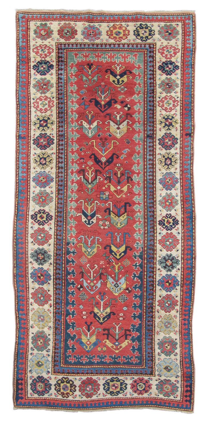Date, Third Quarter of the Century Hand-Woven Wool, size cm x 274 cm)  Caucasus
