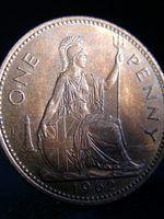 El valor de una moneda rara de un centavo