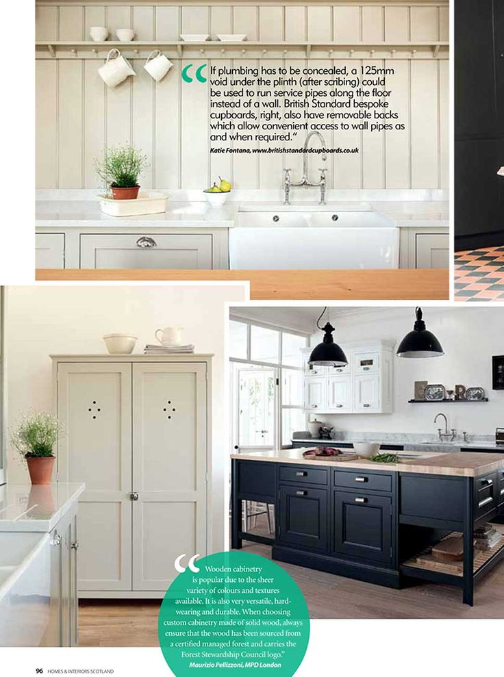 DeVOLs Warwickshire Barn Shaker Kitchen Has A Great Feature In The Summer Issue Of Homes