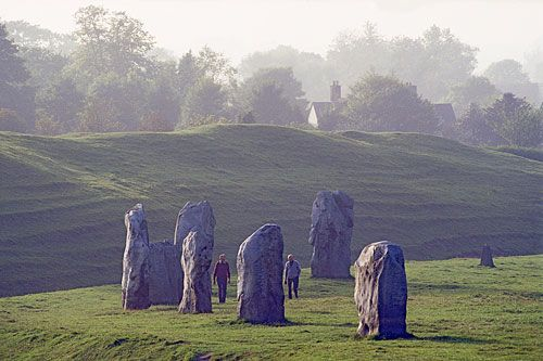 Avebury - very cool.  Not far from Stonehenge and you can touch the stones.