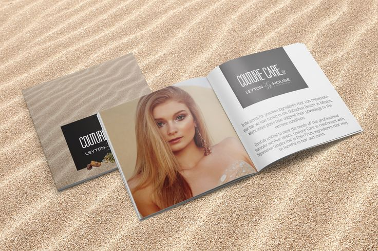 Couture Care Retail Brochure Flatlay