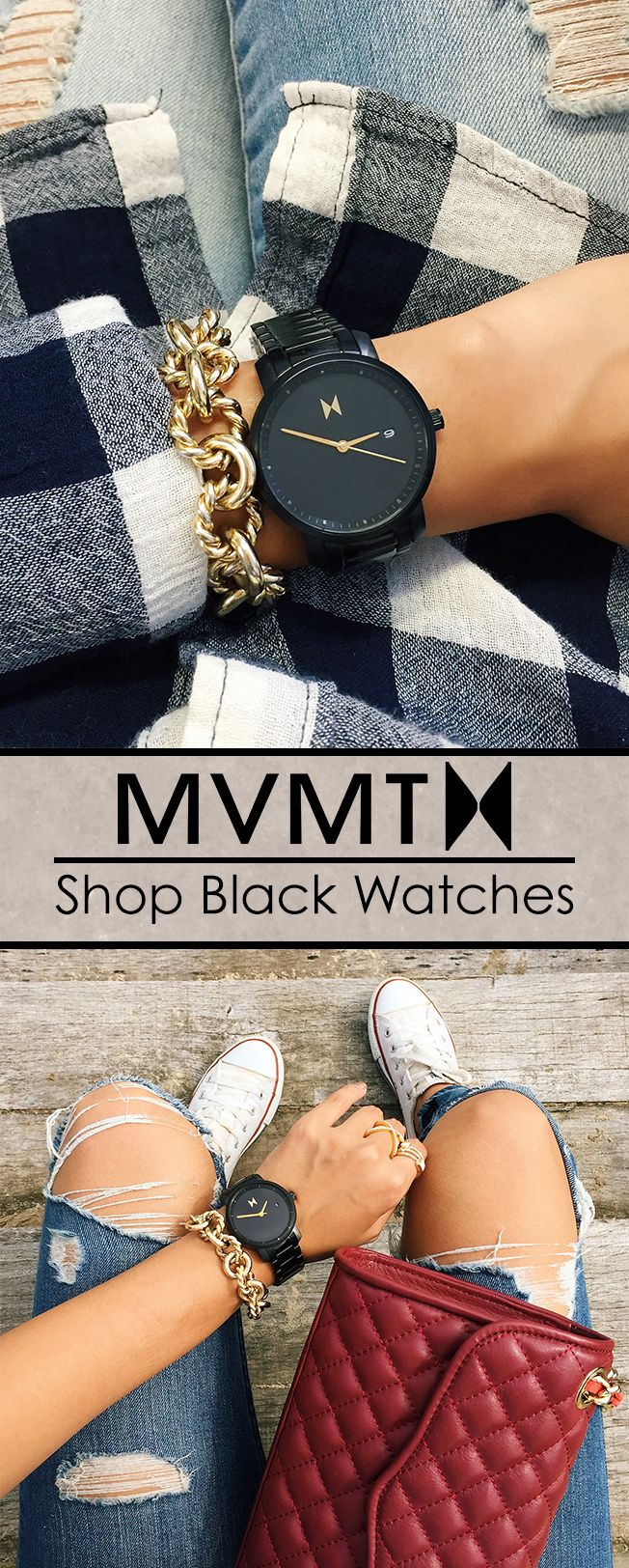 Designed in Santa Monica, California, and inspired by the electric spirit of Los Angeles, MVMT Watches set out to design a classic minimalist watch for women with a modern twist. For an unbelievable price your search for the perfect accessory ends here. Compliments guaranteed.