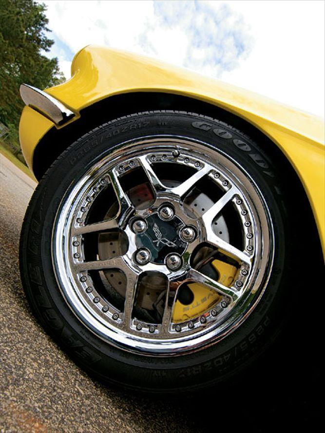 1962 Chevrolet Corvette wheel