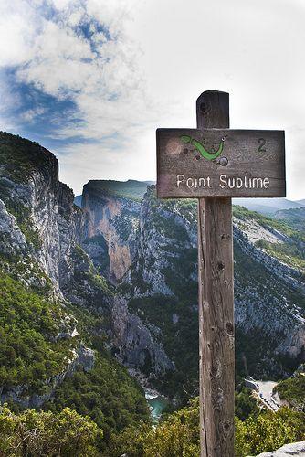 Point Sublime & Gorge du Verdon ~ Provence, France