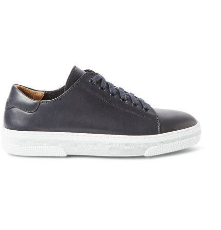 Rubber-Soled Leather Sneakers | MR PORTER