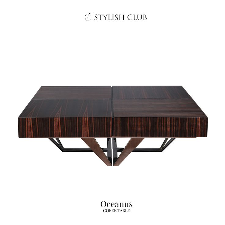 Taking tea has never been as glamorous, with the Stylish Club elegant range of luxury coffee tables - they will be centre piece of any beautiful lounge.