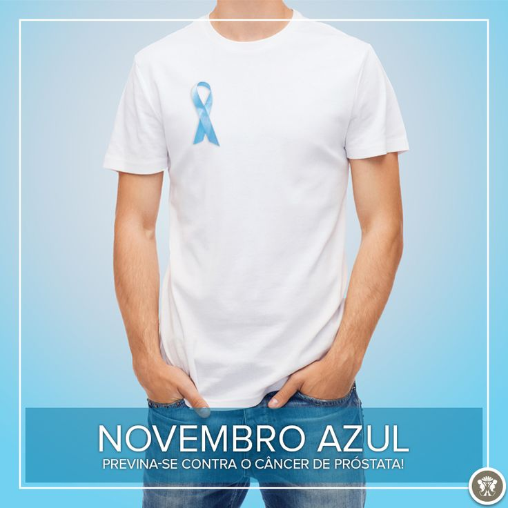 Um novembro pintado de azul é o que todos temos visto durante essa semana. Desde 2003, o mês de novembro é pintado de azul para estimular a prevenção do câncer de próstata no mundo todo. O movimento tem o objetivo de combater essa doença que por ano mata mais de 13 mil homens. Saiba mais sobre o câncer de próstata e sua prevenção em nosso site!