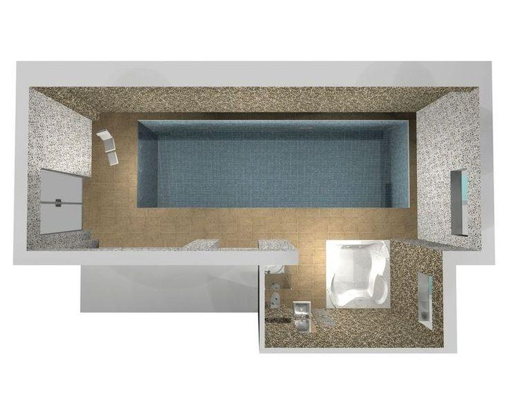 Bazén Podolí - Rekonstrukce Bazénu v Podolí   Koupelnové studio F.A.R. Line…