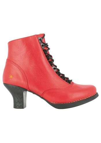 82b05995967 ART støvler HARLEM 0927 memphis carmin . Røde støvler med snøre ...