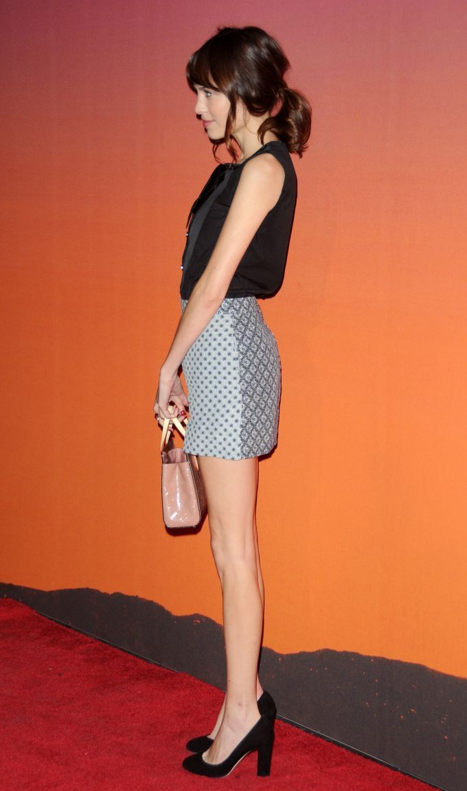 Alexa Chung - Whitney Museum Of American Art Gala Studio Party 2013 Supported By Louis Vuitton in New York City. (October 2013)