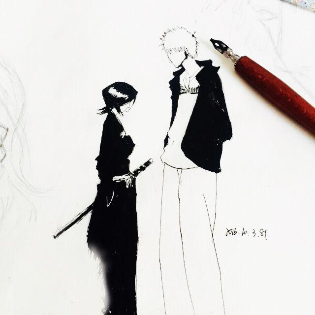BLEACH  Kuchiki Rukia&Kurosaki Ichigo