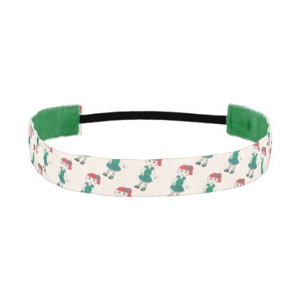 Green Teal Tap Dance Recital Costume Tapdance Girl Athletic Headband - accessories accessory gift idea stylish unique custom