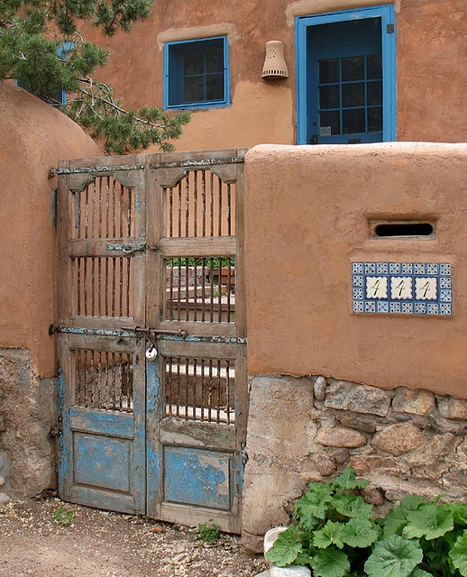 1000 images about santa fe style homes on pinterest for Santa fe adobe homes