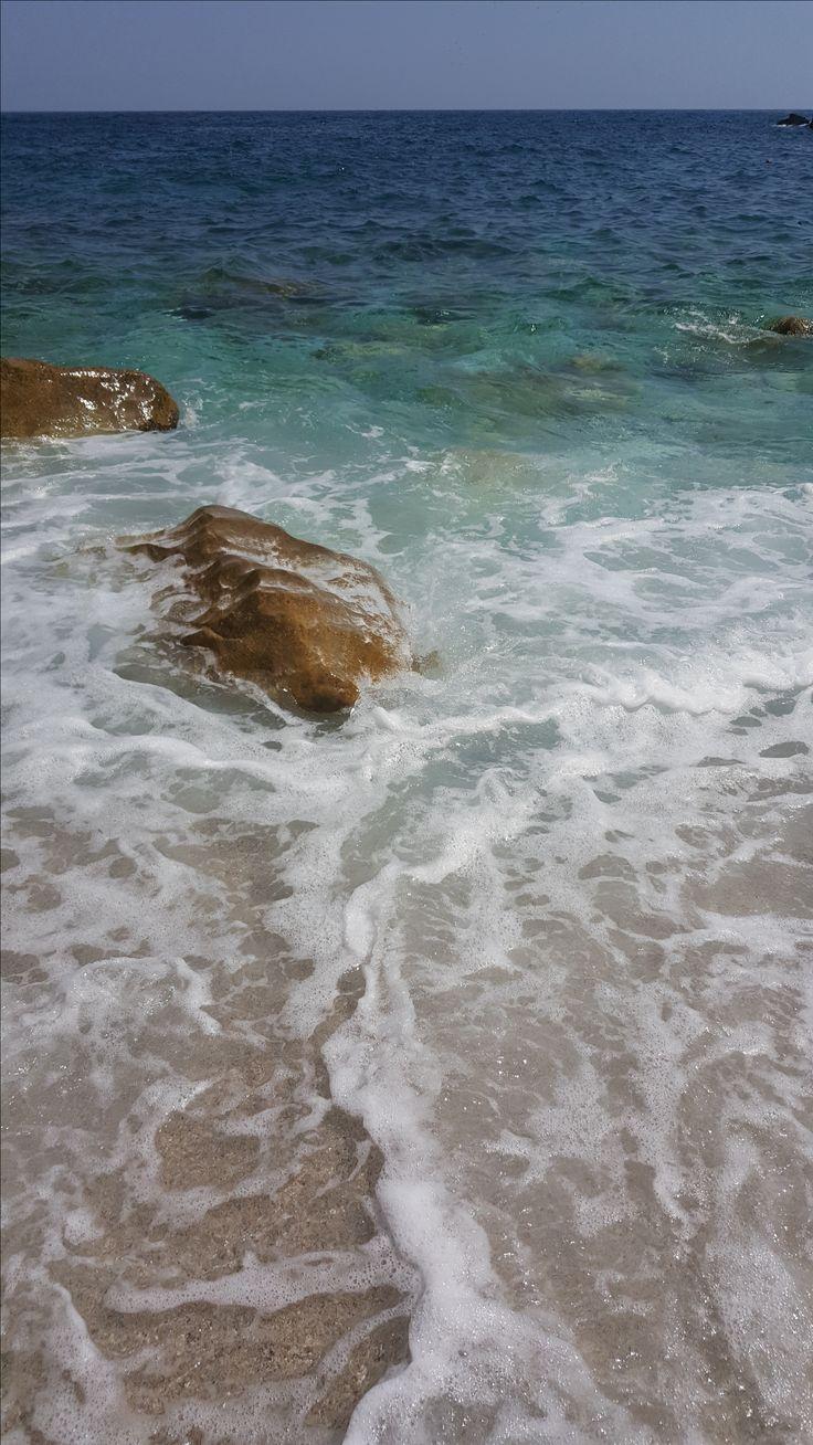 Fakistra beach, wat een plaatje