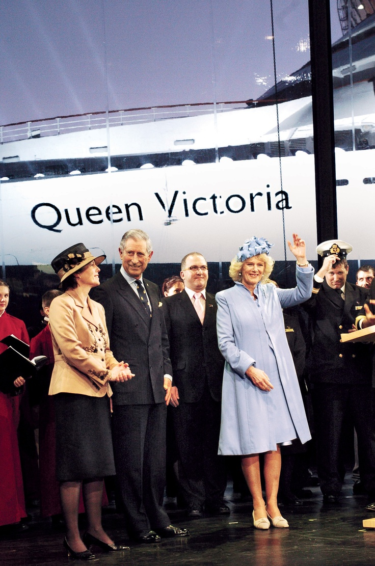 The Duchess of Cornwall names Queen Victoria.