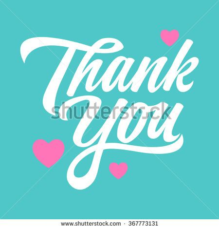 Simple graphic of a heart symbol with thank you hand