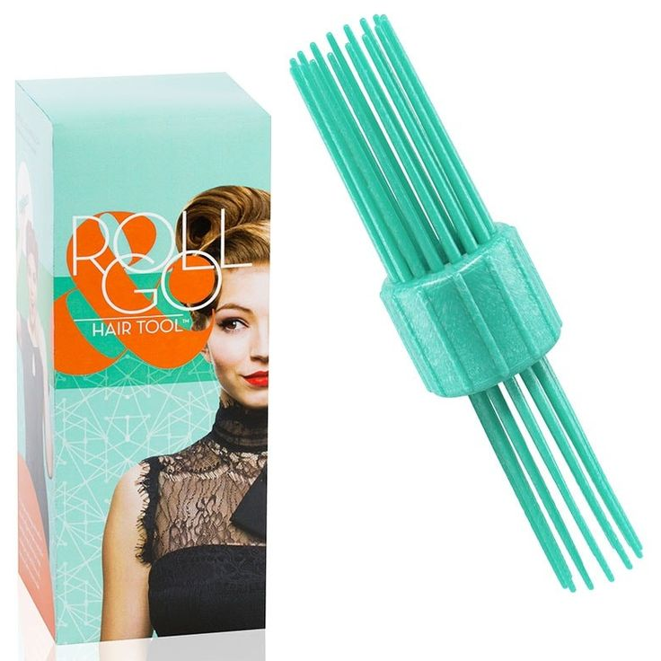 Roll and Go Victory Roll Tool Set  | The Roll & Go Hair Tool makes wrapping hair into uniform, round tube shapes like Victory rolls a snap!