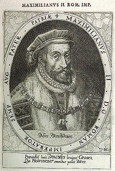.Maximilián II. Habsburský  panoval v rokoch  1564 – 1576 (Svätá rímska ríša)