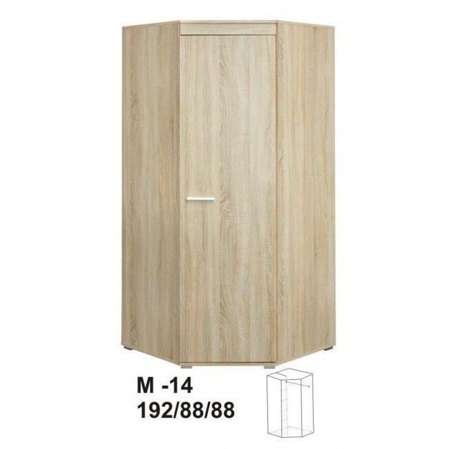 Šatní skříň rohová MARINO M14 3758