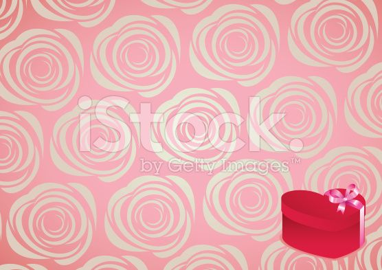 roses pattern background royalty-free stock vector art