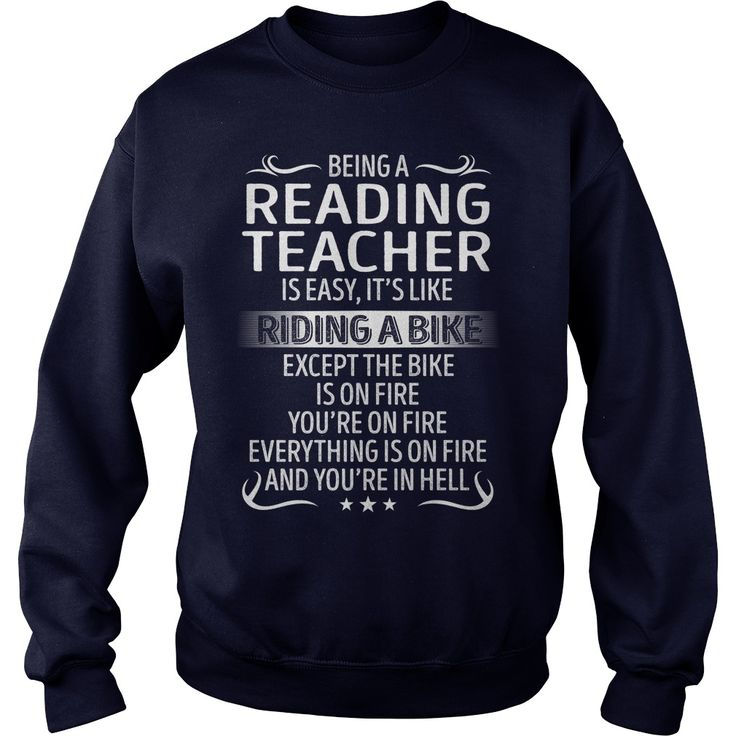Being a Reading Teacher like Riding a Bike Job Title TShirt #gift #ideas #Popular #Everything #Videos #Shop #Animals #pets #Architecture #Art #Cars #motorcycles #Celebrities #DIY #crafts #Design #Education #Entertainment #Food #drink #Gardening #Geek #Hair #beauty #Health #fitness #History #Holidays #events #Home decor #Humor #Illustrations #posters #Kids #parenting #Men #Outdoors #Photography #Products #Quotes #Science #nature #Sports #Tattoos #Technology #Travel #Weddings #Women