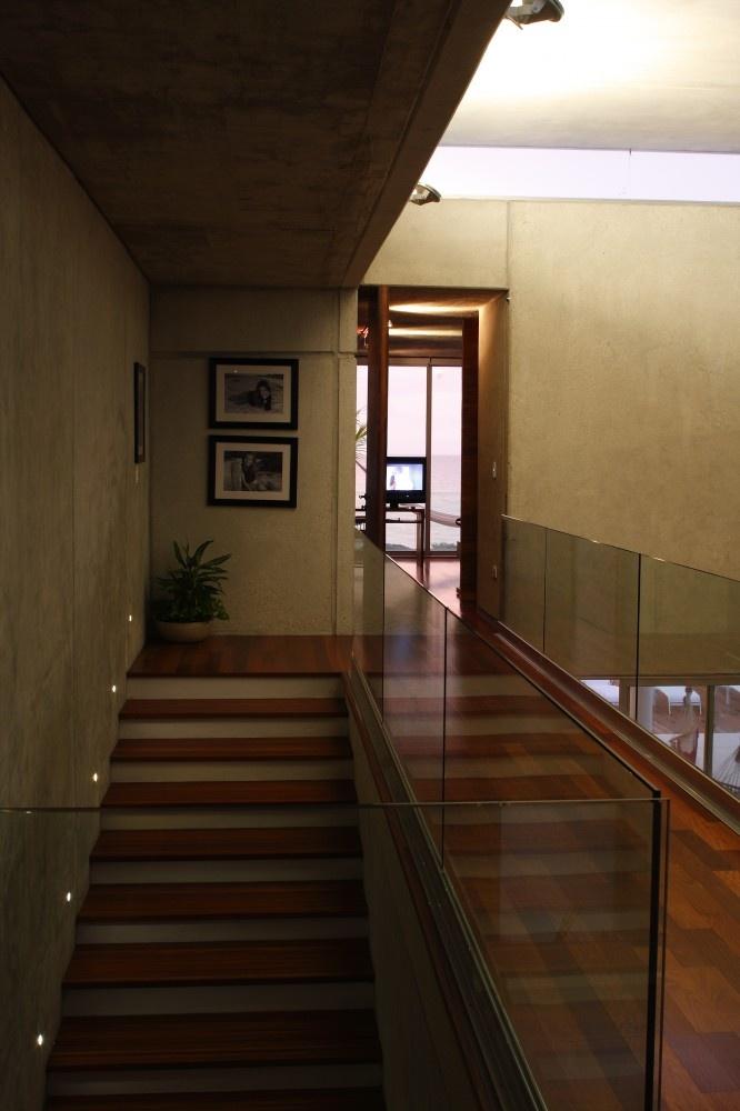 stairs of modern beach house design Siriki