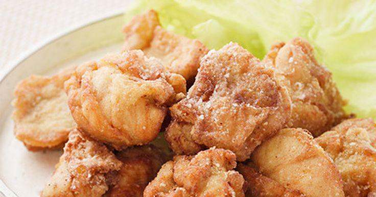 プロが教える美味しい家庭用鶏の唐揚げ by J−オイルミルズ [クックパッド] 簡単おいしいみんなのレシピが264万品