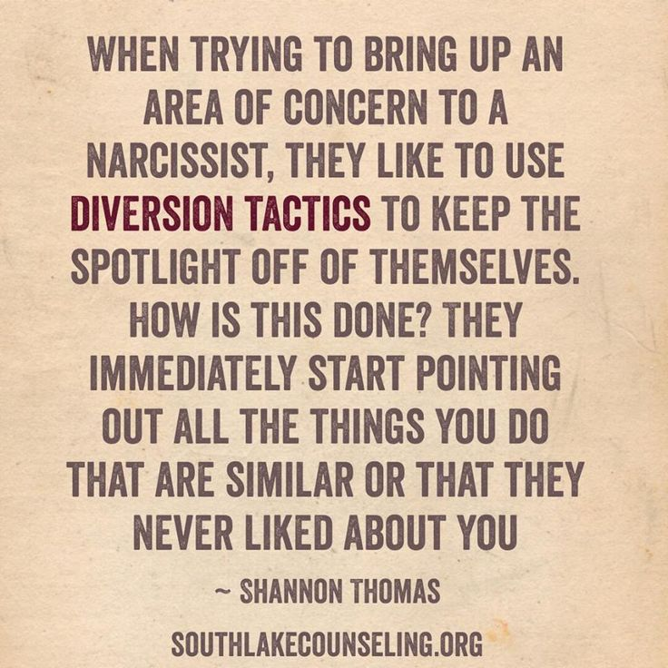 Diversion is always the narcissists tactic of dealing with perceived critism