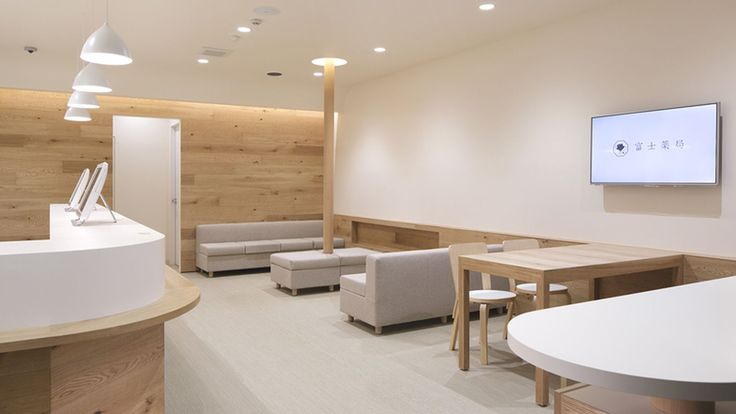 Despite the growing number of striking, minimalist pharmacies out there, there's something about this oak-lined dispensing center in Tokyo that's even lovelier and more calming than the rest....