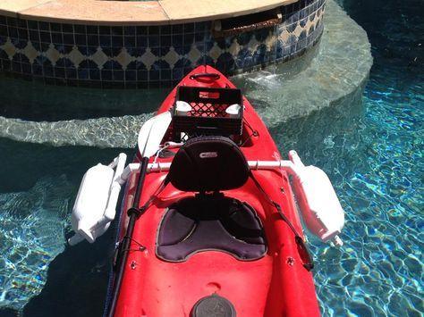 Homemade kayak outriggers for my Pescador | Kayak Fishing | Texas Fishing Forum