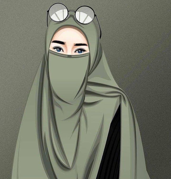 Gambar Kartun Muslimah Bercadar Bicara Baik Atau Diam T