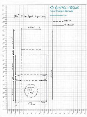 Anleitung Mini Ritter Sport - Verpackung