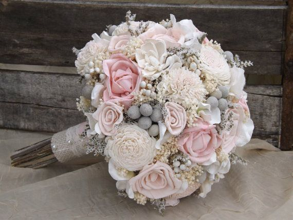 Hey, I found this really awesome Etsy listing at https://www.etsy.com/listing/230041399/sola-bouquet-pink-roses-blush-pink-with