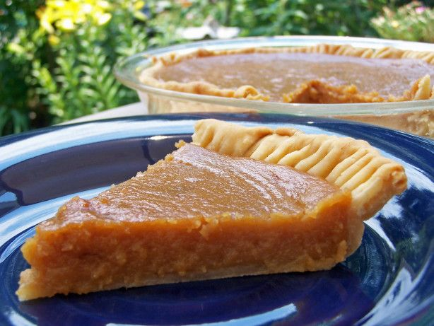 In French, it is Tarte au Sucre Brun. Delicious!!  This is a basic pie from Quebec, Canada. Super easy.