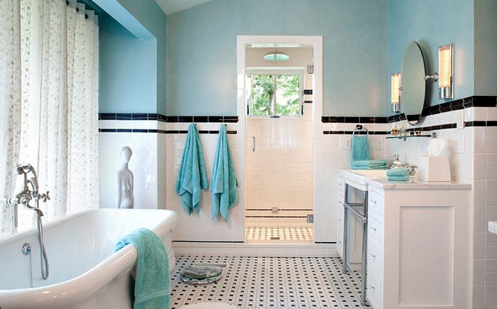 Традиционная ванная от Tyner Construction