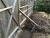 Solidifier les poteaux d'une Clôture en bois