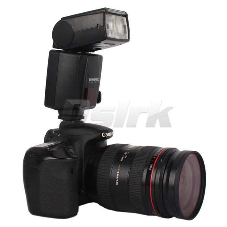 Купить товарYongnuo YN468 II YN 468 II вспышка TTL Speedlite для Canon 1000D 30D 350D 400D 40D 450D 500D 50D 550D 5D II 60D 7D в категории Вспышкина AliExpress.            YONGNUO YN468 II YN-468 II TTL вспышка Speedlite для Canon 10
