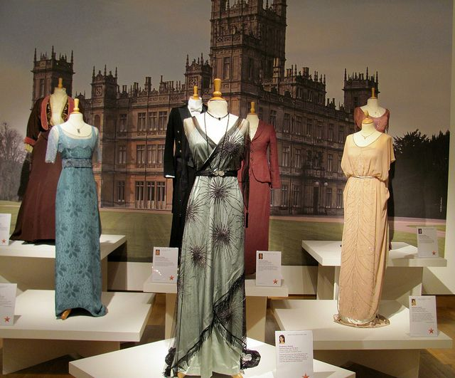 Downton Abby love the fashion in this show!! there were some beautiful pieces!