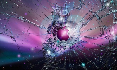 Apple Monitor, Crash Mac Background